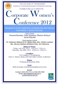 Corporate Women's Conference 2012