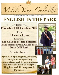 English in the Park