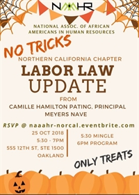 NAAAHR Northern California Chapter Presents Labor Law Updates