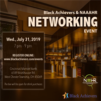 NAAAHR Greater Cincy Networking Event with Black Achievers