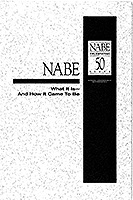 NABE 50th Anniversary Booklet Cover