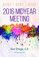 2016 Midyear Meeting program cover