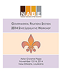 2014 Governmental Relations Section Workshop Cover