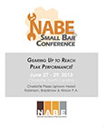2013 Small Bar Conference Cover