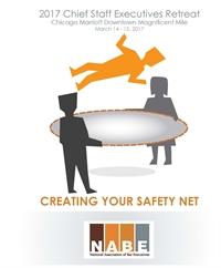 NABE Chief Staff Executives Retreat program cover