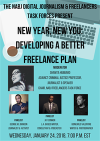New Year, New You: Developing A Better Freelance Plan Webinar