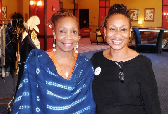 Membership Committee Members Roxanne Ellis-Denby (Co-Chair) and Sondera Malry (member/National Corresponding Secretary)