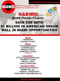 SFlorida $1B Luncheon - American Dream Mall Opportunities