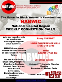 National Capitol Region Weekly Connection Calls