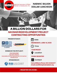 NABWIC BILLION DOLLAR PUBLIC PRIVATE PARTNERSHIP OPPORTUNITIES LUNCHEON