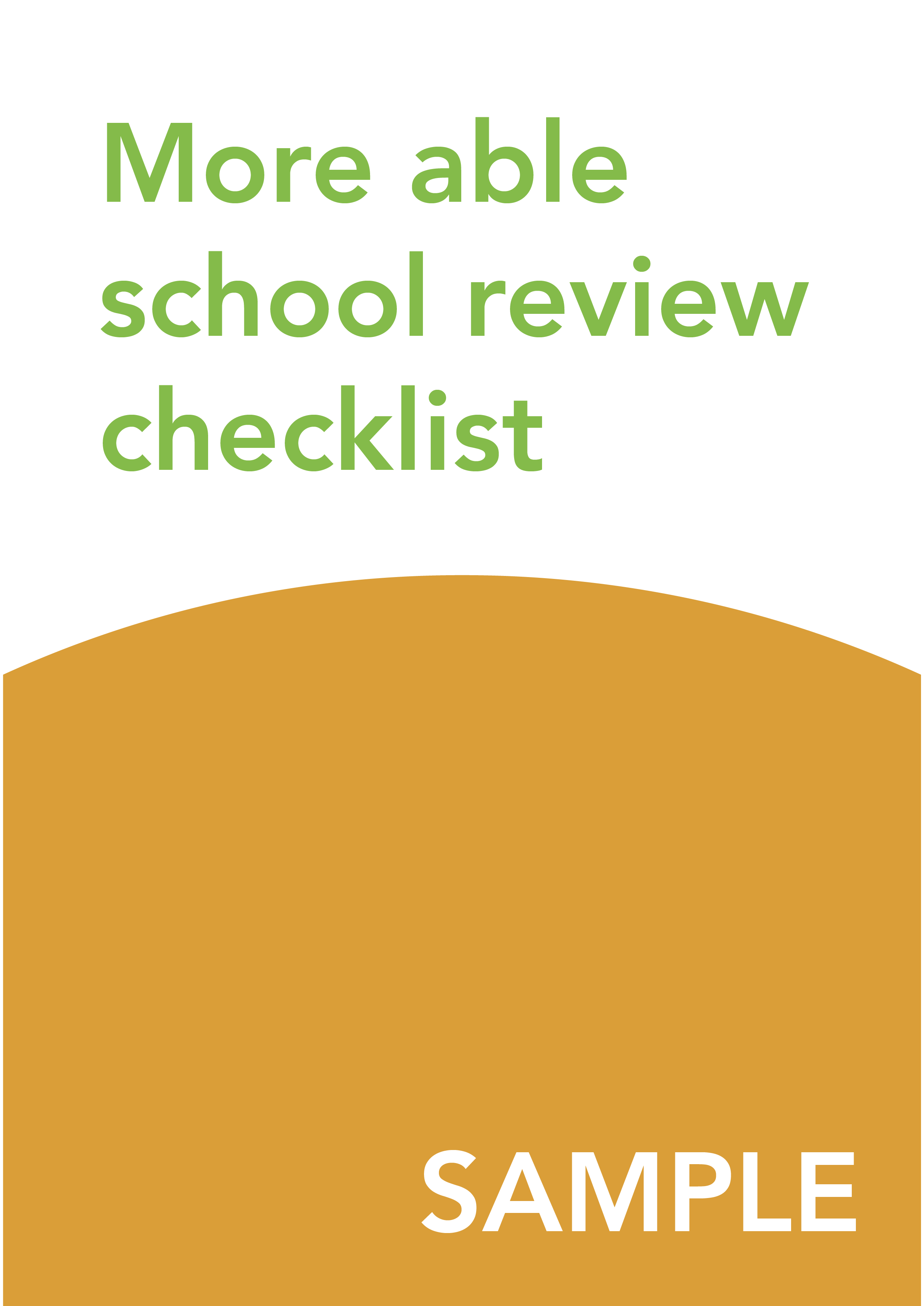 School review checklist