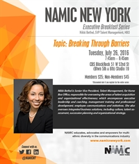 NAMIC-NY Breakfast Series -