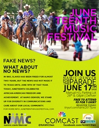 NAMIC-Denver Juneteenth Music Festival Parade March