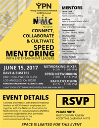 NAMIC-Southern California & YPM @NBCUniversal Speed Mentoring