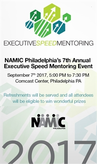 NAMIC-PHILADELPHIA EXECUTIVE SPEED MENTORING 2017