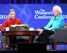 Justices Ginsburg and O'Connor