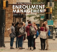 Faculty Institute: Enrollment Management
