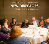 Faculty Institute: New Directors
