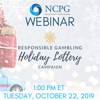 Webinar: Holiday Lottery Responsible Gambling Campaign