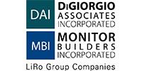 The LiRo Group/DiGiorgio Associates Inc./Monitor Builders Inc. Logo