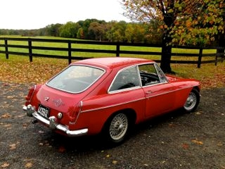 Classic Used Oil Generators: 1967 MGB GT - NORA, An