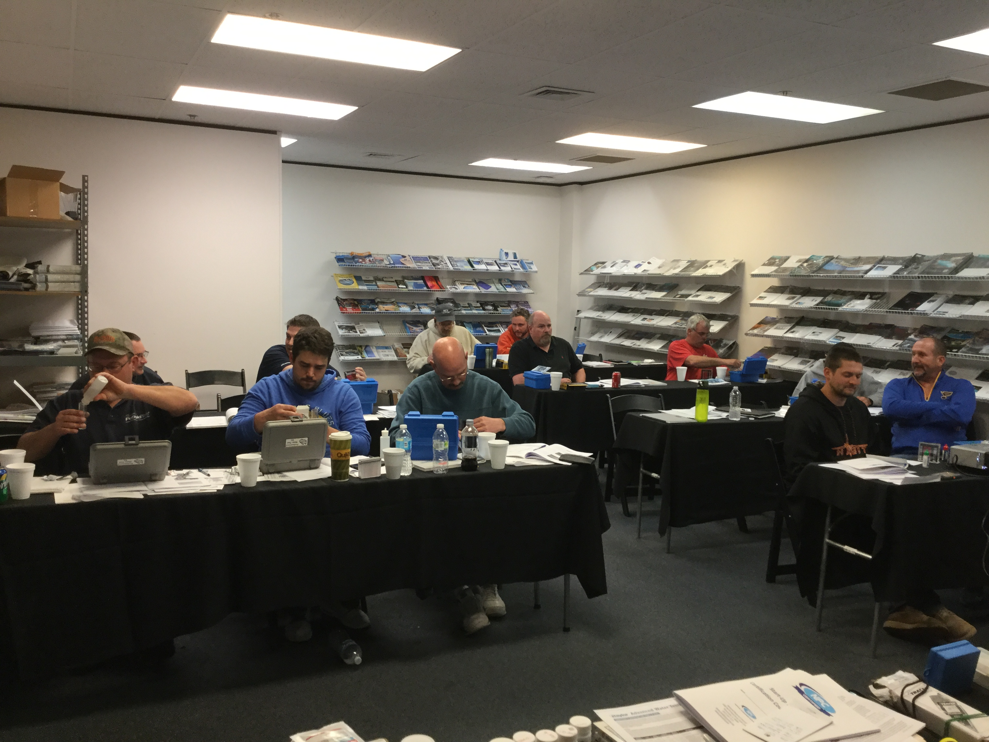 NPC Start-up technician certification class