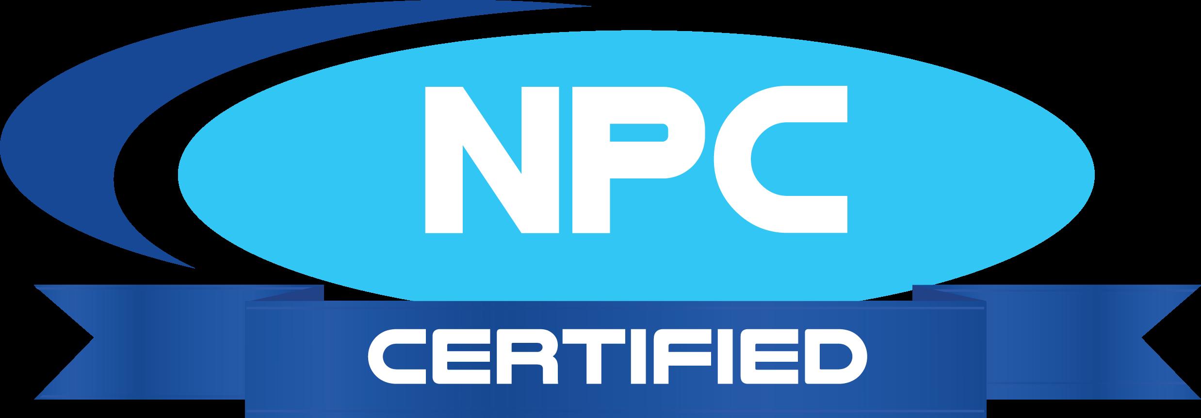 Get NPC Certified!