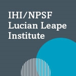 10th Annual IHI/NPSF LLI Forum & Keynote Dinner - Individuals