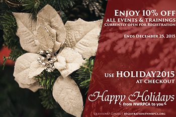2015 NWRPCA Holiday Discount