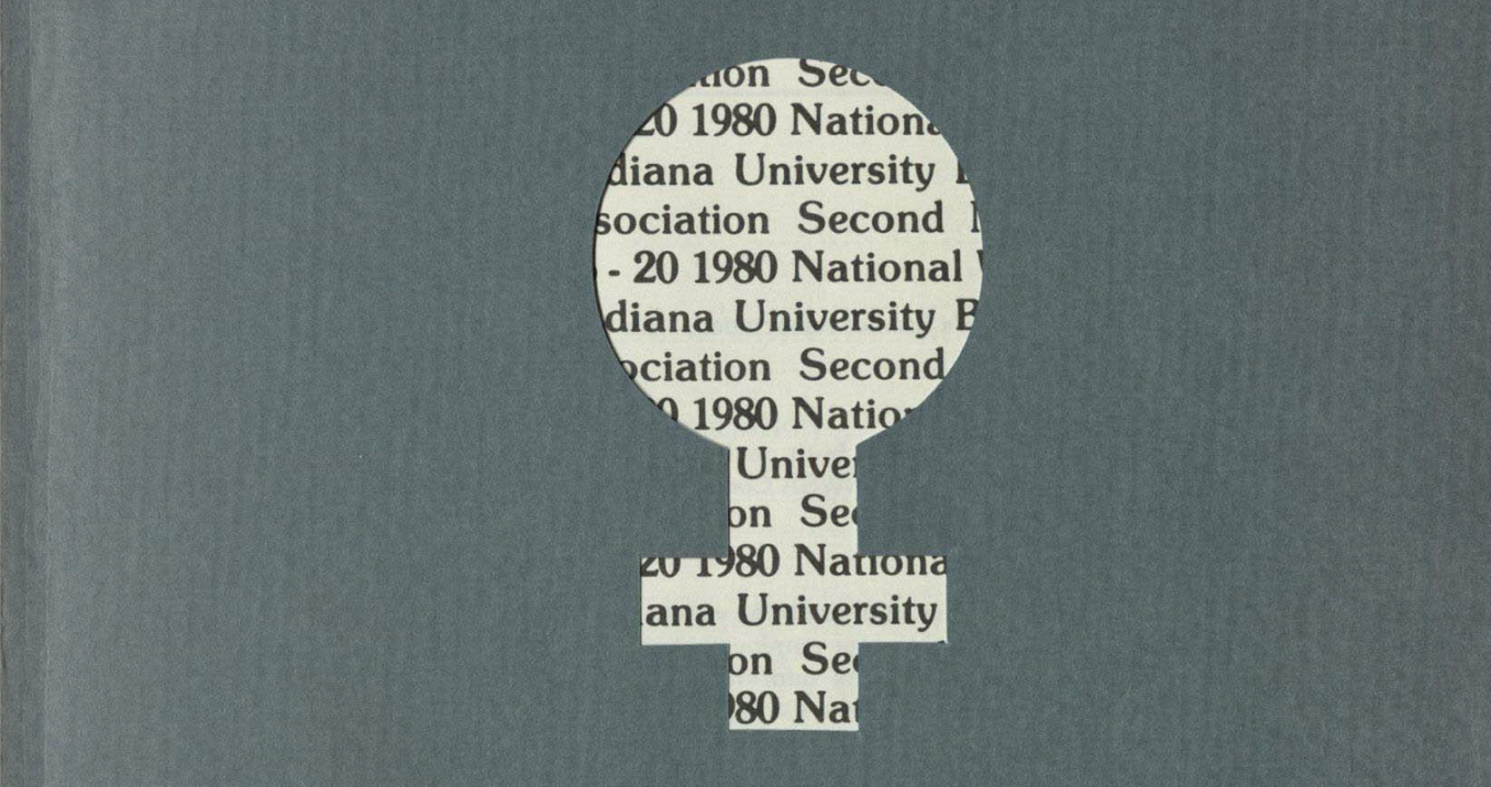 Cover of the 1980 conference program book