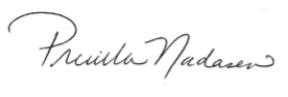 Premilla's Signature