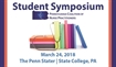 2018 Student Symposium Advertising Opportunity