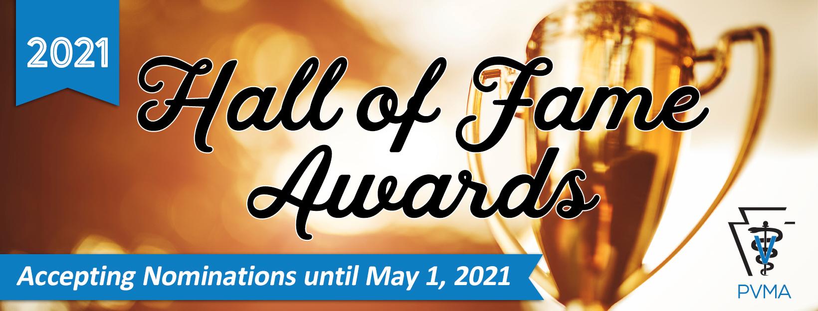 2021 Hall of Fame Header