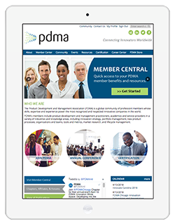 PDMA is mobile responsive