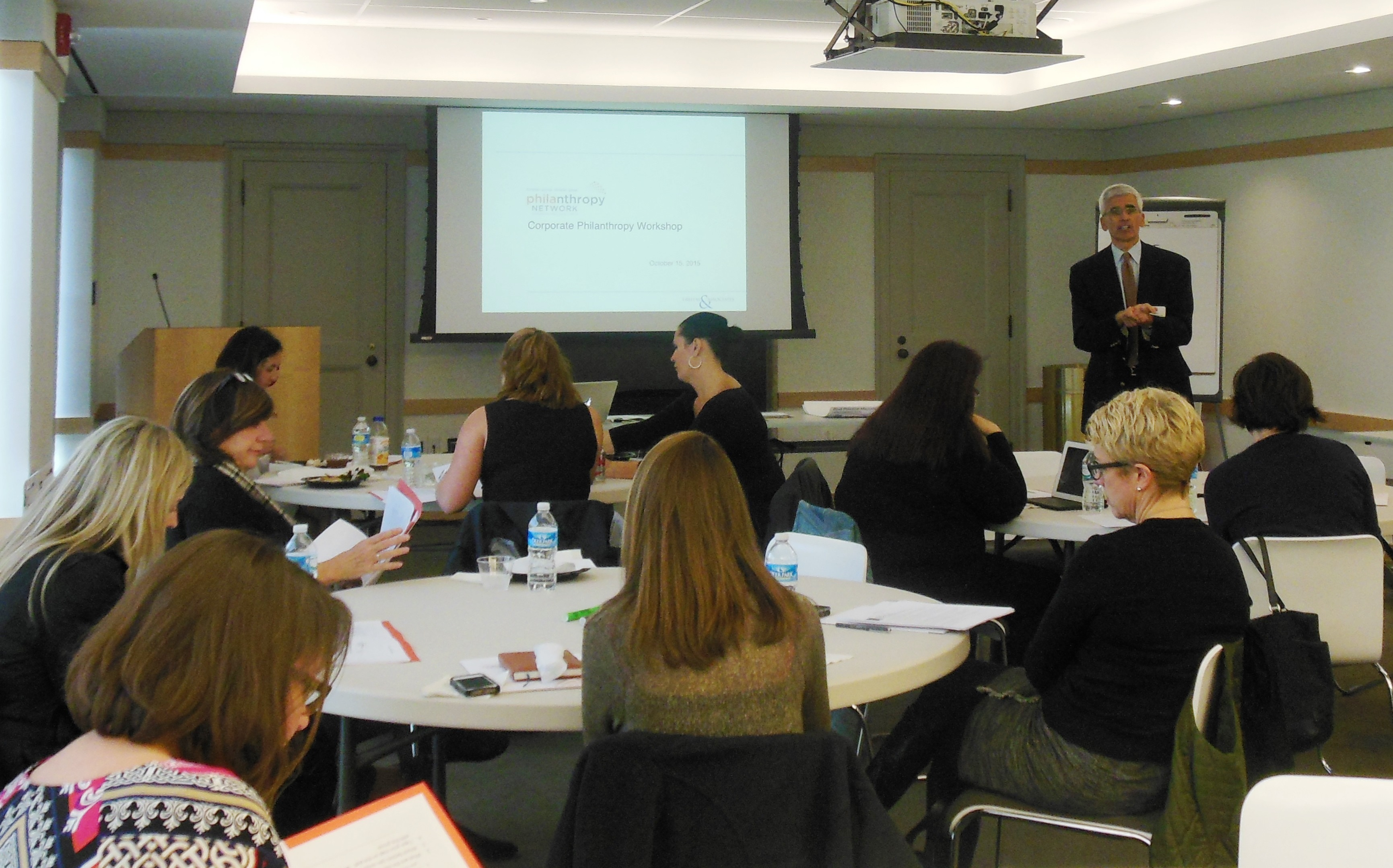 year in review philanthropy network greater philadelphia corporate professional development workshop ken freitas co sponsored by the greater philadelphia corporate volunteer council 10 15