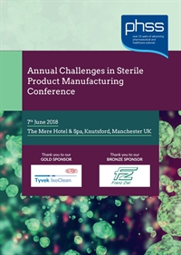 Challenges in Sterile Product Manufacture 2018