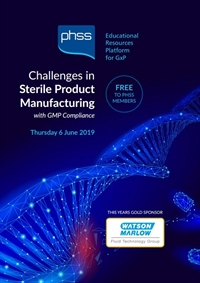 Challenges in Sterile Product Manufacture 2019