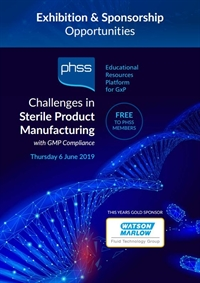 Challenges in Sterile Products Manufacture 2019 -  - Exhibitors and Sponsors