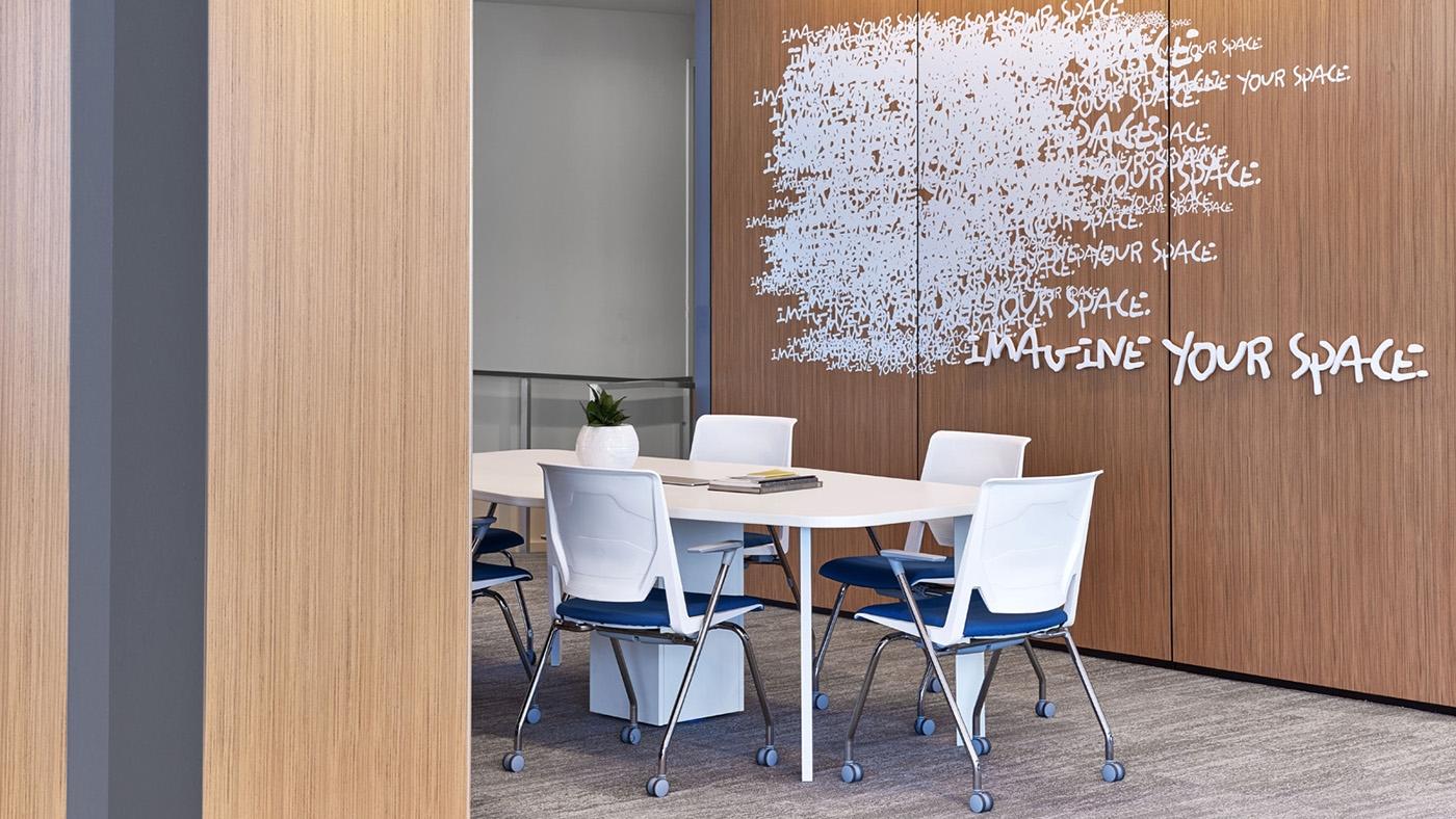 The Haworth Showroom Meeting Space