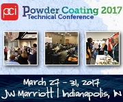 Powder Coating 2017 Tabletops, Sponsorships & Advertising
