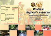 6th Mindanao Regional Conference