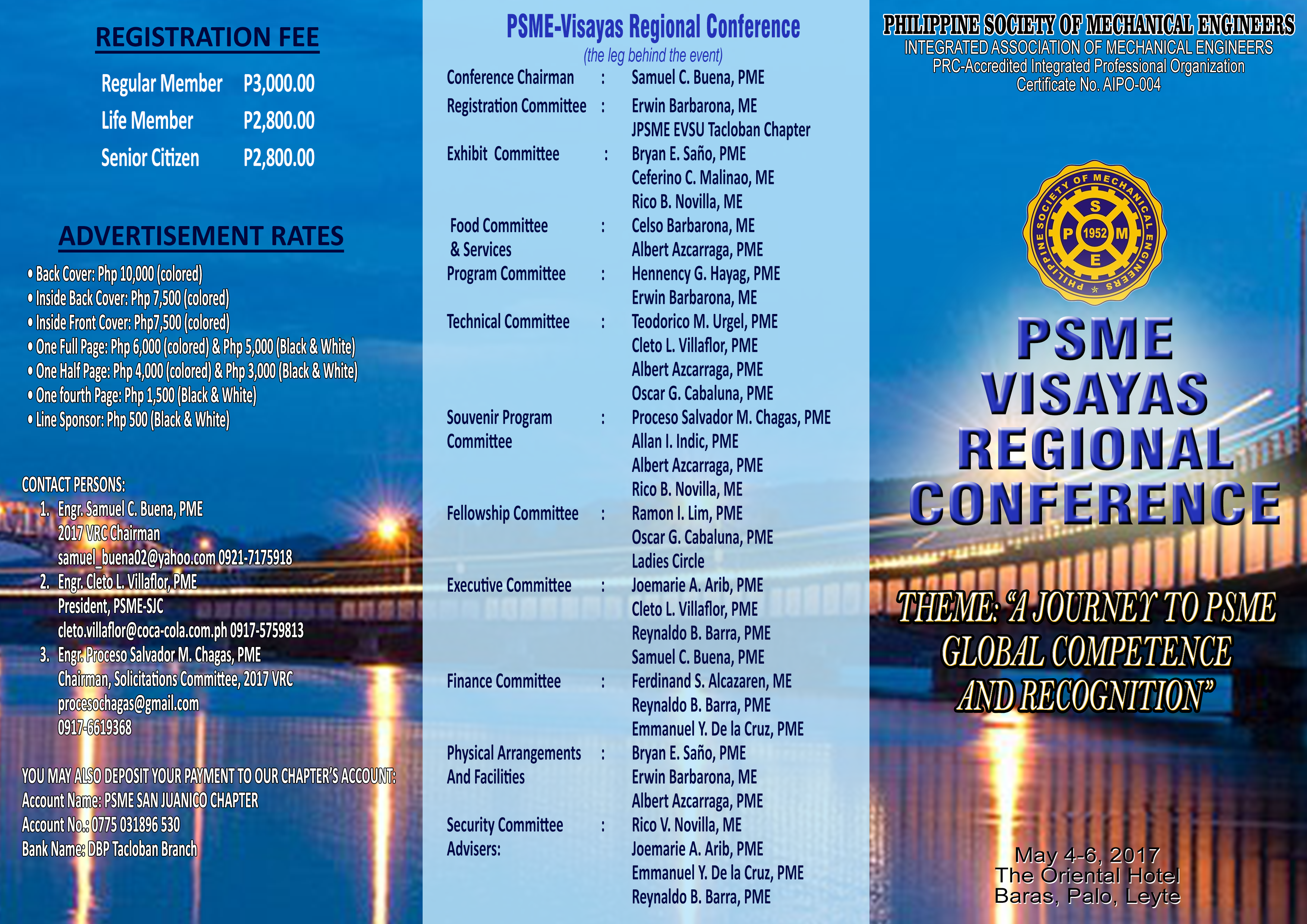 visayas regional conference philippine society of mechanical