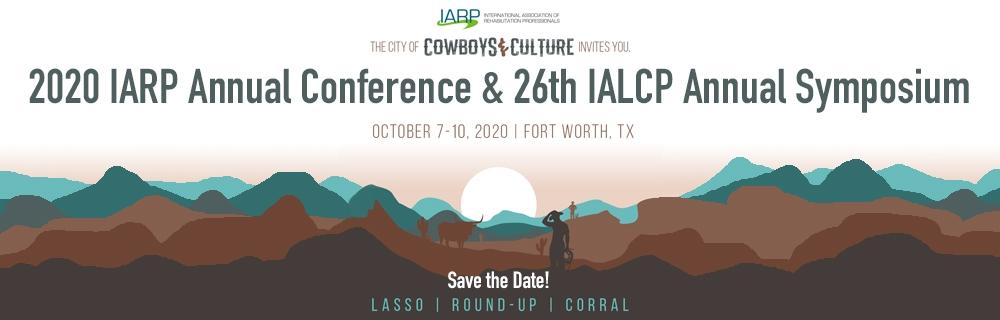 2020 IARP Annual Conference logo
