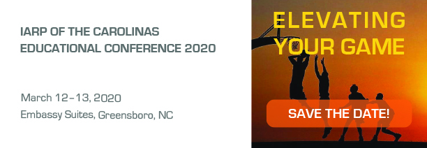 Carolinas Chapter Education Conference 2020 Save the Date