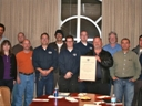 Souther Nevada Chapter receiving their Charter