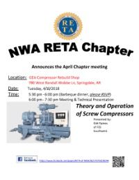 NW Arkansas April 10, 2018 RETA meeting