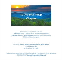 RETA Blue Ridge Chapter's June Meeting