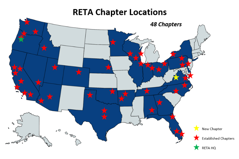 RETA Chapter Locations