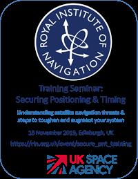 Training Seminar: Securing Positioning & Timing