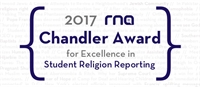 2017 Chandler Student Religion Reporting Award